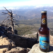 Summit Beer, Cuyamaca Peak (highest peak in San Diego)